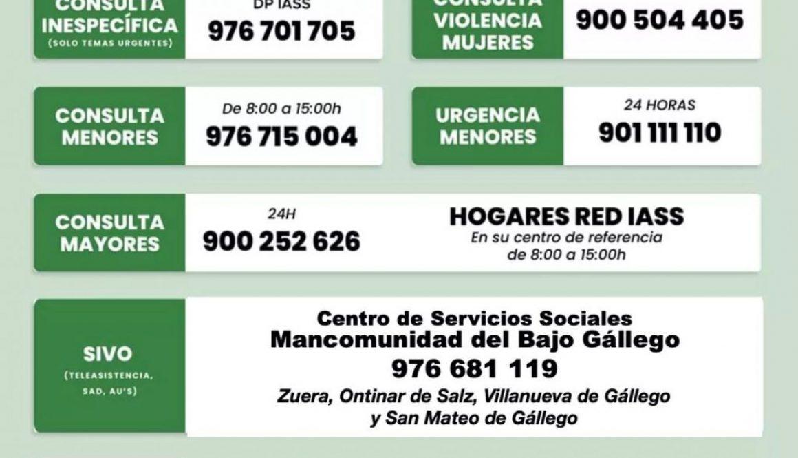 INFORMACION SOCIOSANITARIA